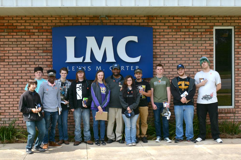 LMC Hosts Bainbridge High School's Engineering Department