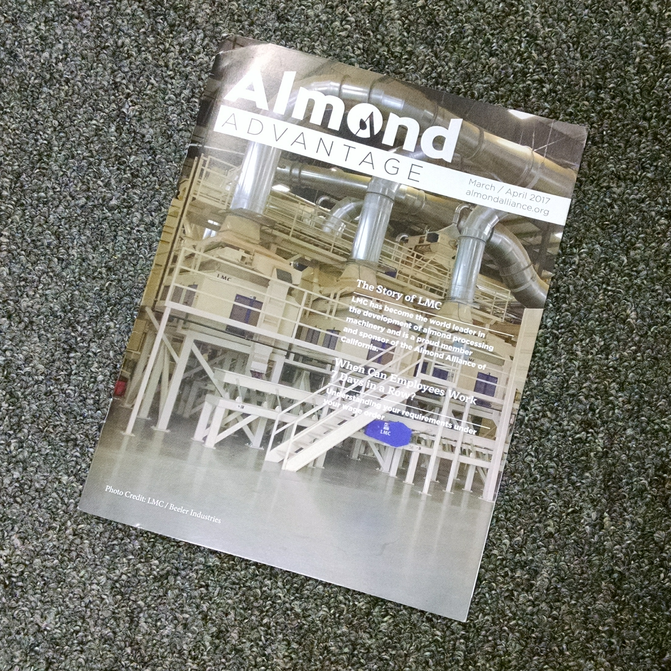 LMC Featured in Almond Advantage