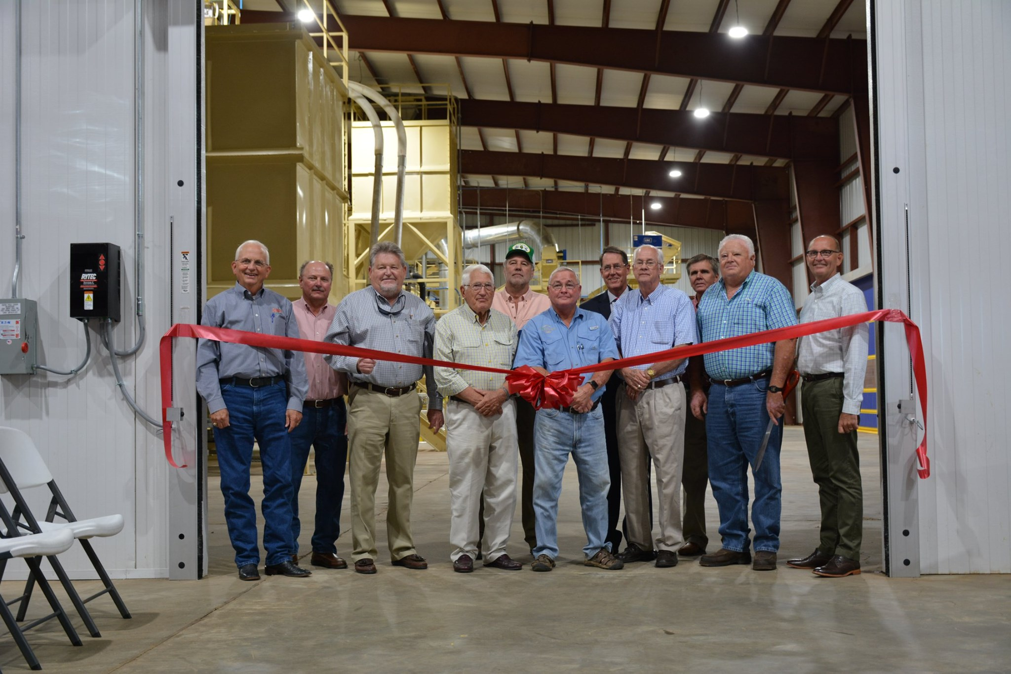 New Donalsonville Peanut Blanching Facility Holds Ribbon Cutting Ceremony